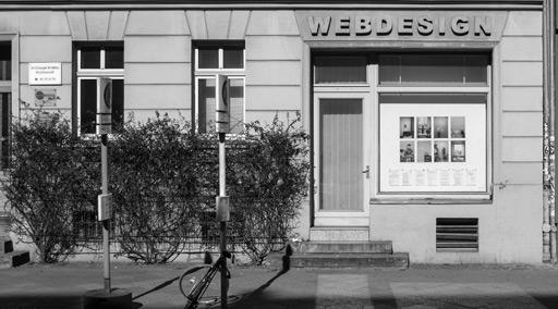 FENSTER61 - Fotoausstellungen im Fenster der Internetagentur Reister Webdesign Berlin