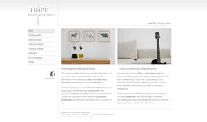 Webdesign Referenz  von A-Z: Hope Apartments
