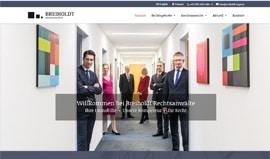 Website für eine Rechtsanwaltskanzlei