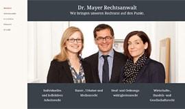 Rechtsanwalt Dr. Mayer, Berlin