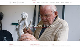 Website von Reinhold Petermann
