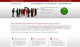 Website für Flugbörse Prenzlauer Berg