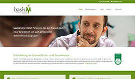 Basis M - Website mit WordPress