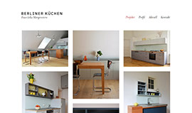Berliner Küchen: Website by reister.de