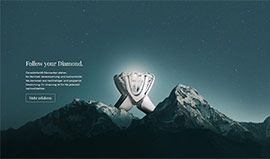 Canadamark - Fairtrade Diamonds - Website erstellt von Reister Webdesign