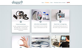 dopa Diamond Tools Website