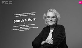 Website für Sandra Volz