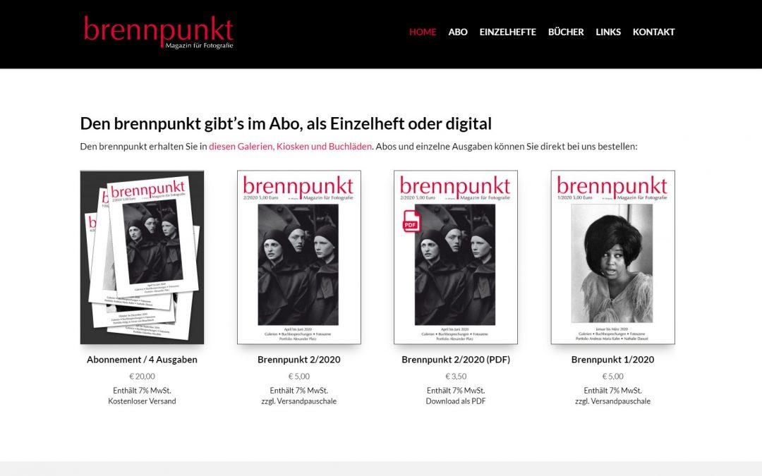 Brennpunkt Magazin für Fotografie